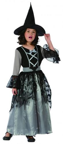 Grijze heks kostuum voor meisjes
