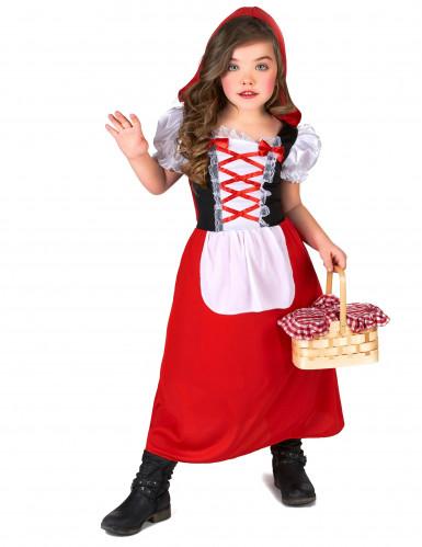 Klein en schattig Roodkapje kostuum voor meisjes