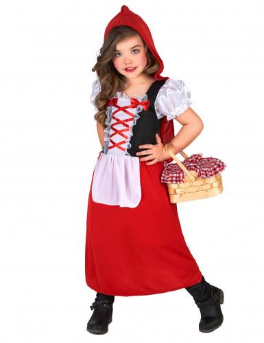 Klein en schattig Roodkapje kostuum voor meisjes-1