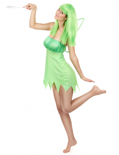 Groene feeën outfit voor vrouwen-1
