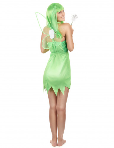 Groene feeën outfit voor vrouwen-2