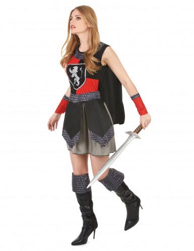 Middeleeuws ridder outfit voor dames-1
