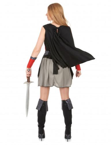Middeleeuws ridder outfit voor dames-2