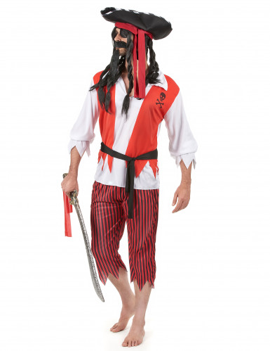 Piraten outfit voor heren -1