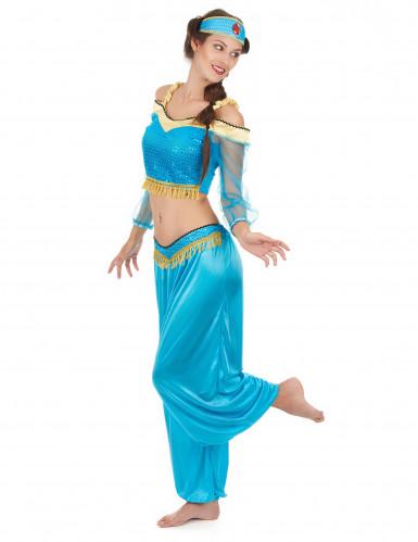 Oosterse danseres kostuum voor dames -1