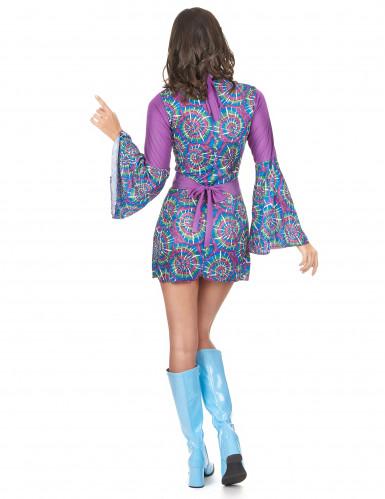Hippie Flower Power outfit voor dames-2