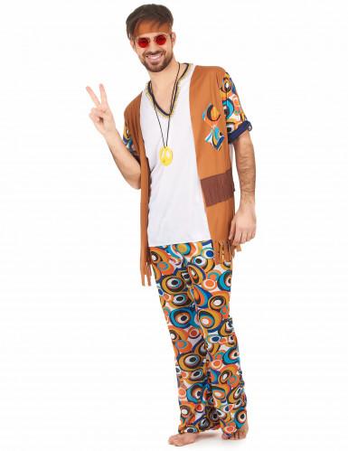 Flower power outfit voor heren-1