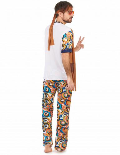 Flower power outfit voor heren-2