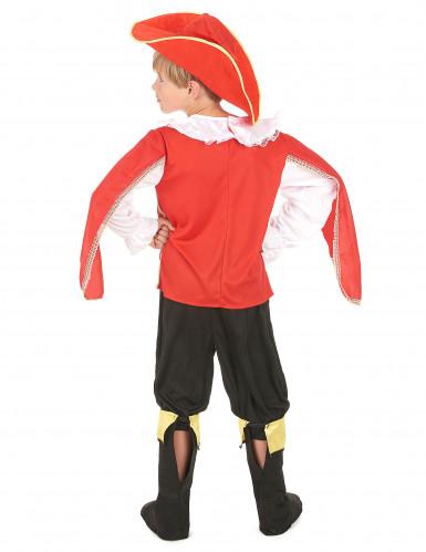 Rode musketier kostuum voor jongens-2