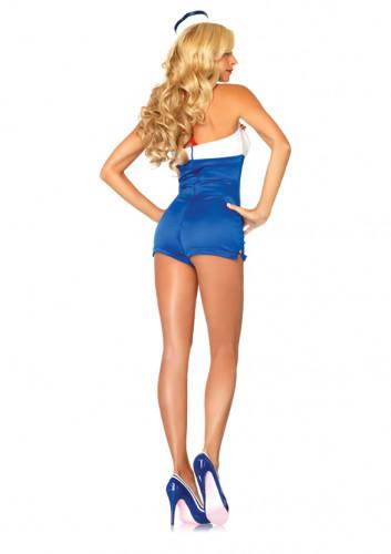 Sexy pin up matrozen kostuum voor dames-1