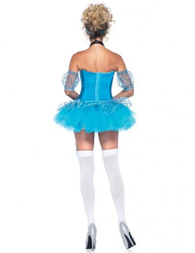 Sexy blauwe sprookjes pak voor dames-1