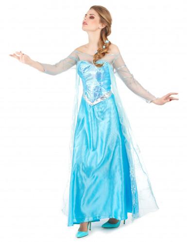 Elsa Frozen™ kostuum voor volwassenen-1