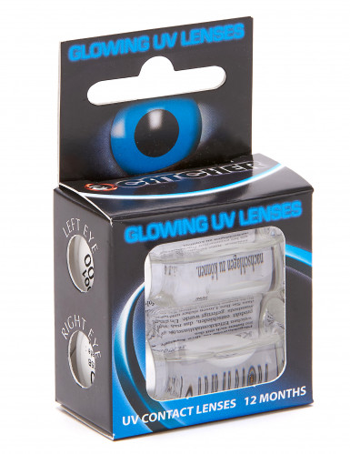 UV contact lenzen wit-1