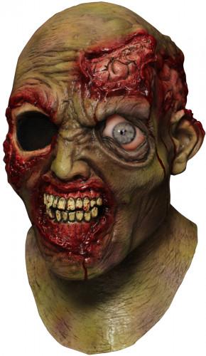 Geanimeerd zombie masker voor volwassenen