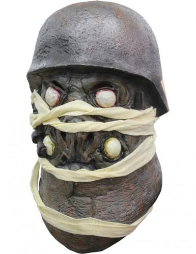 Integraal masker Frankenstein's Army™ Zombot voor volwassenen