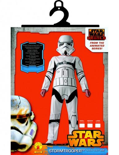 Kostuum van Stormtrooper Star Wars Rebels™ voor kinderen-1