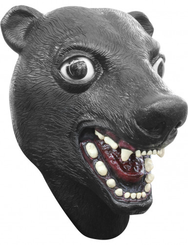 Zwarte berenmasker