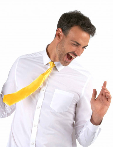 Gele stropdas voor volwassenen