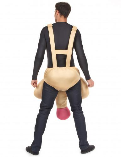 Grappig piemel kostuum voor volwassenen-2