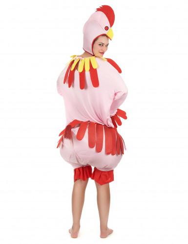Kippen kostuum voor volwassenen -2