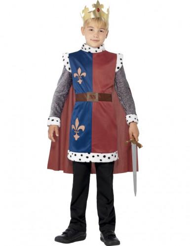 Middeleeuwse edele koning kostuum voor jongens