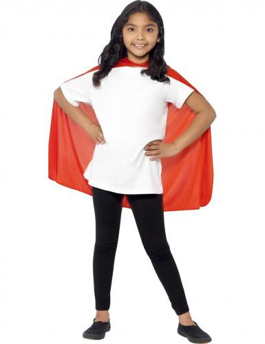 Rode cape voor kinderen -1