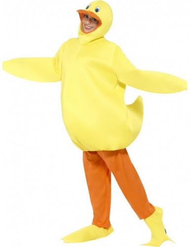 Kostuum eend voor volwassenen