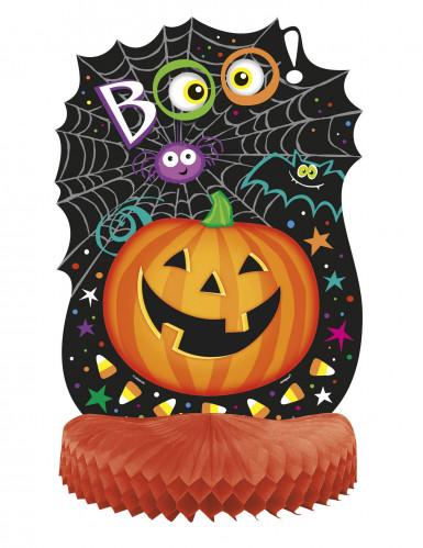 Klein pompoen tafelversiering Halloween