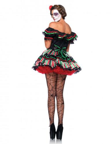 Dia de los Muertos outfit voor vrouwen-1