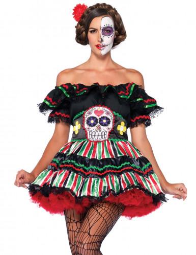 Dia de los Muertos outfit voor vrouwen-2