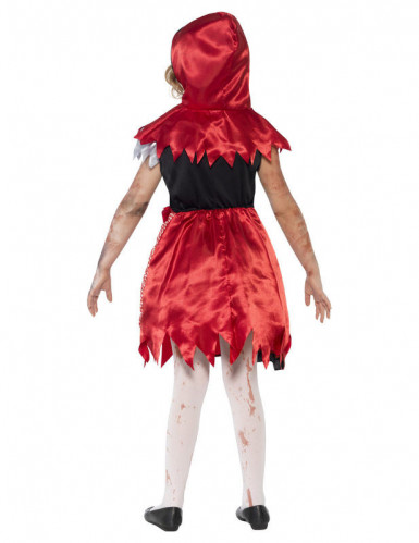Zombie roodkapje kostuum voor meisjes-1