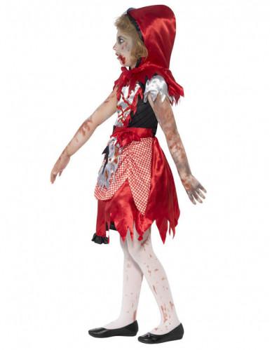 Zombie roodkapje kostuum voor meisjes-2