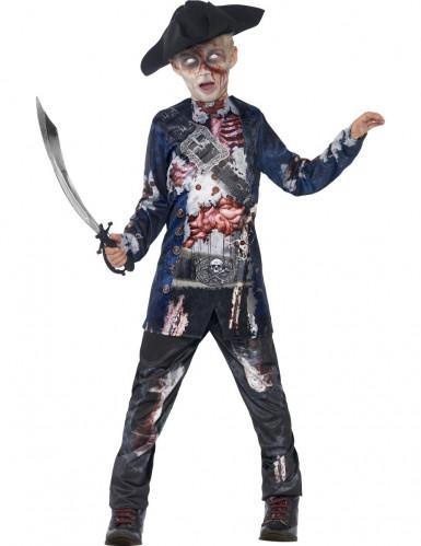 Rottende zombie piraten kostuum voor jongens