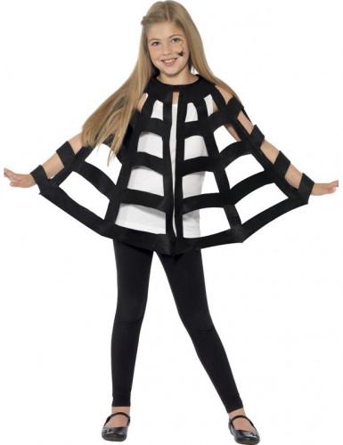 Spinnenweb cape voor kinderen Halloween