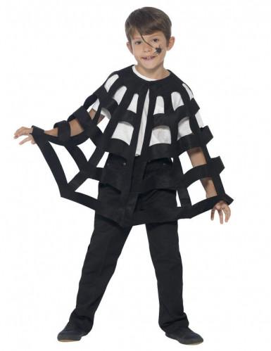 Spinnenweb cape voor kinderen Halloween-1