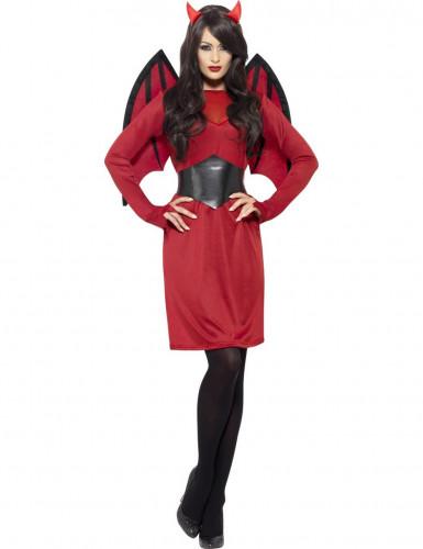 Chique duivel kostuum pack met accessoires voor vrouwen-1