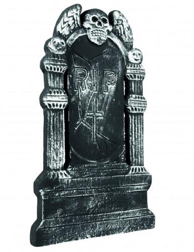 Grafsteen Flying skull RIP (50 x 30 cm)