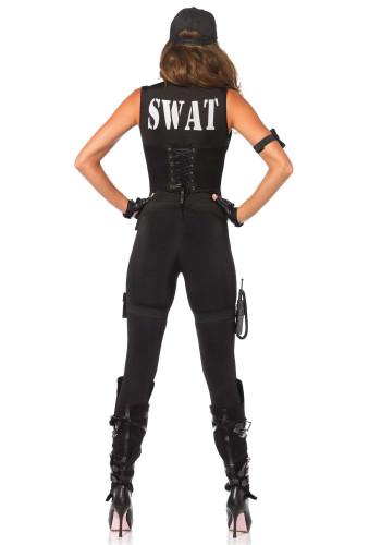 Sexy SWAT kostuum voor dames - Premium-3