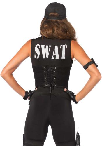 Sexy SWAT kostuum voor dames - Premium-1