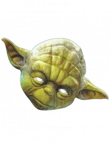 Yoda™ masker van Star Wars™ voor volwassenen