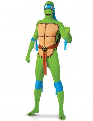 Leonardo Ninja Turtles ™ Second Skin kostuum volwassenen