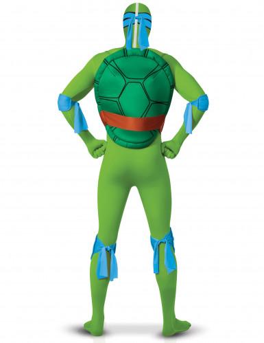 Leonardo Ninja Turtles ™ Second Skin kostuum volwassenen-1