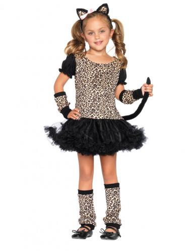Luipaard tutu kostuum voor meisjes
