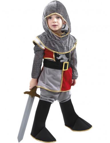 Kleine leeuwen ridder outfit voor jongens