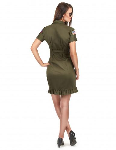 Luxe Top Gun™ outfit met bril voor volwassenen-2