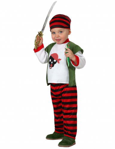 Piraten kostuum voor baby's