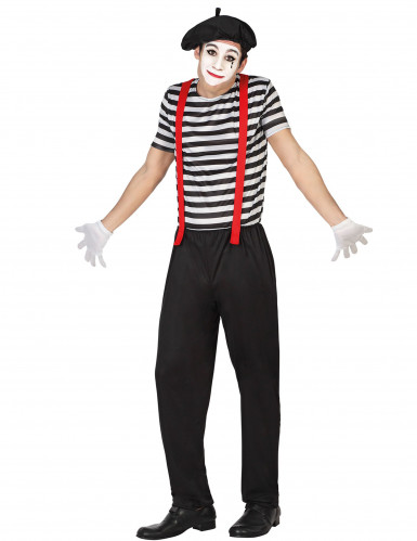 Mime outfit voor mannen