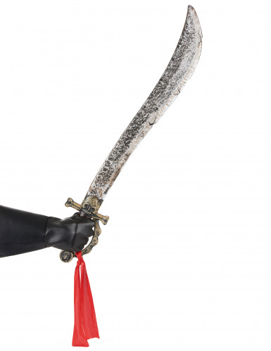 Doodskop piraten sabel voor volwassenen-1
