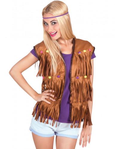 Hippie vest voor vrouwen