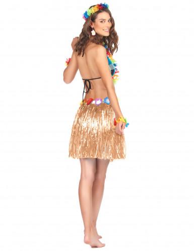 Korte Hawaiiaanse rok voor volwassenen-1